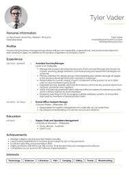 Business Management Graduate Cv Example