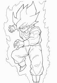 Inspirational Dragon Ball Z Goku Coloring Pages 64 In Free Book With