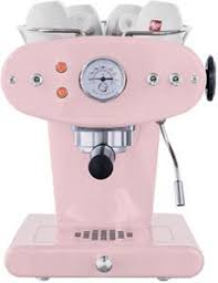 Illy X1 Espresso Machine In Baby Pink