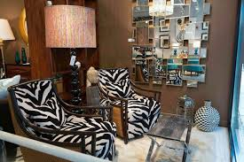 Furniture Artistic Living Room Design Ideas Using Black Zebra Print Decorating Category With Post