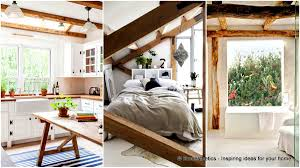 100 Exposed Joists 32 Design Ideas For Spaces With Wooden Beams