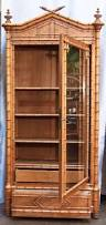 Broyhill Fontana Armoire Dimensions by Faux Bamboo Armoire Or Bookcase Of Curly Maple Modern Wardrobe