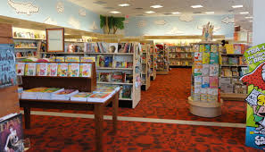 The children s section of the new Barnes & Noble at Rutgers Bookstore