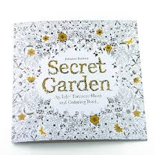 Secret Garden Coloring Book For Adult Relieve Stress Kill Time Painting Drawing