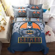 Batman Bed Set Queen by Superhero Batman Bedding Set For Boys Kids Baymax Sheet