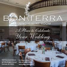 bonterra dining wine room in charlotte nc dirona awarded