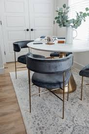 Custom Dining Room Chairs With Gold Metal | Metal Dining ...