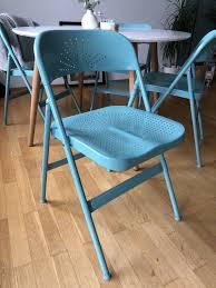esszimmer stühle modern türkis klappstuhl