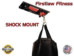 Punching Bag Ceiling Mount by Shock Mount Heavy Punching Bag Hanger 70 Lbs Bags To 260 Lbs