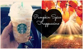 Pumpkin Spice Frappuccino Recipe Starbucks by Starbucks Pumpkin Spice Frappuccino Vlog October 20 21 22 U0026 23