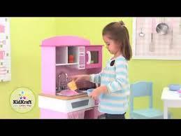Dora The Explorer Fiesta Kitchen Set by Kidkraft Home Cooking Kitchen 53198 Girls Pink Play Toy Kitchen At