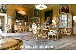 Baroque Antique Style Dining Table Solid Wood Luxury Italian Sets And Chairs Gumtree