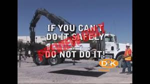 100 Boom Truck Safety Training Video YouTube