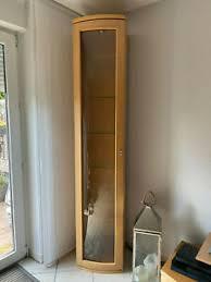 markenlose vitrinen aus buche fürs wohnzimmer günstig kaufen