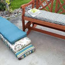Patio Seat Cushions Amazon by Garden Bench Cushions Amazon Outdoor Furniture Walmart Kmart