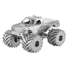 Fascinations | Metal Earth 3D Metal Model DIY Kits:: Metal Earth ... Vintage Kyosho The Boss 110th Scale Rc Monster Truck Car Crusher Redcat Volcano Epx 110 24ghz Redvolcanoep94111bs24 Snaptite Grave Digger Plastic Model Kit From Revell Rtr Models Trx360641 Traxxas Skully Tq84v Amazoncom Revell Build And Playmonster Jam Max D Fire Main Battle Engine 8s Xmaxx 4wd Brushless Electric 1 Set Stunt Tire Wheel Anti Roll Mount High Speed For Hsp How To Turn A Slash Into Blue Eu Xinlehong Toys 9115 2wd 112 40kmh Hot Wheels Diecast Vehicle Dhk Maximus Ep Howes