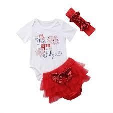 Newborn Baby Girl Velvet Red Romper Casual Kids Girls Feather