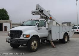 2000 Ford F650 Bucket Truck | Item EP9338 | SOLD! June 14 Co...