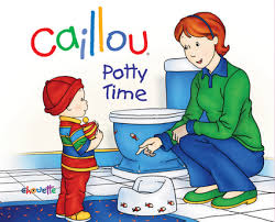 Caillou Pees In The Bathtub by The Good The Bad And The Potty