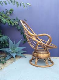 vintage mid century modern retro 70s bamboo bentwood rattan