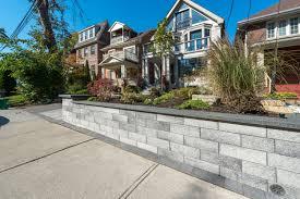 100 Modern Stone Walls Retaining Lakeridge Contracting Ltd Durham Region