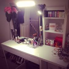 Diy Makeup Desk Ikea by Diy Makeup Marshalls And Perfume On Pinterest Cheap Ikea Office