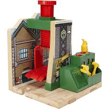 Thomas And Friends Tidmouth Sheds Wooden Railway by My First Thomas The Train Tidmouth Shape Sorter