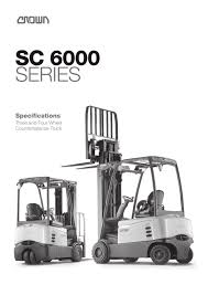 Forklift SC 6000 - CROWN - PDF Catalogue | Technical Documentation ... Cat Diesel Powered Forklift Trucks Dp100160n The Paramount Used 2015 Yale Erc060vg In Menomonee Falls Wi Wisconsin Lift Truck Corp Competitors Revenue And Employees Owler Mtaing Coolant Levels Prolift Equipment Forklifts Rent Material Sales Manual Hand Pallet Jacks By Il Forklift Repair Railcar Mover Material Handling Wi Contact Exchange We Are Your 1 Source For Unicarriers