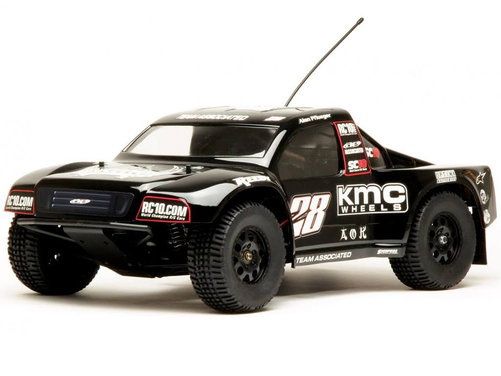 Team Associated Kmc Wheels Rtr Combo Rc Vehicle Kit - 1:10 Scale