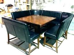 Dining Room Booths Booth Table Height Style Set Attractive Top Stagger Tables Zombie Pic 3 Sets At Counter