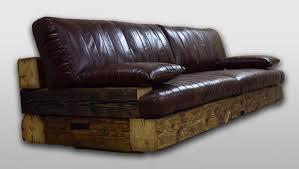 design antik stil holz ledersofa leder couchen polster sofas designer sofa