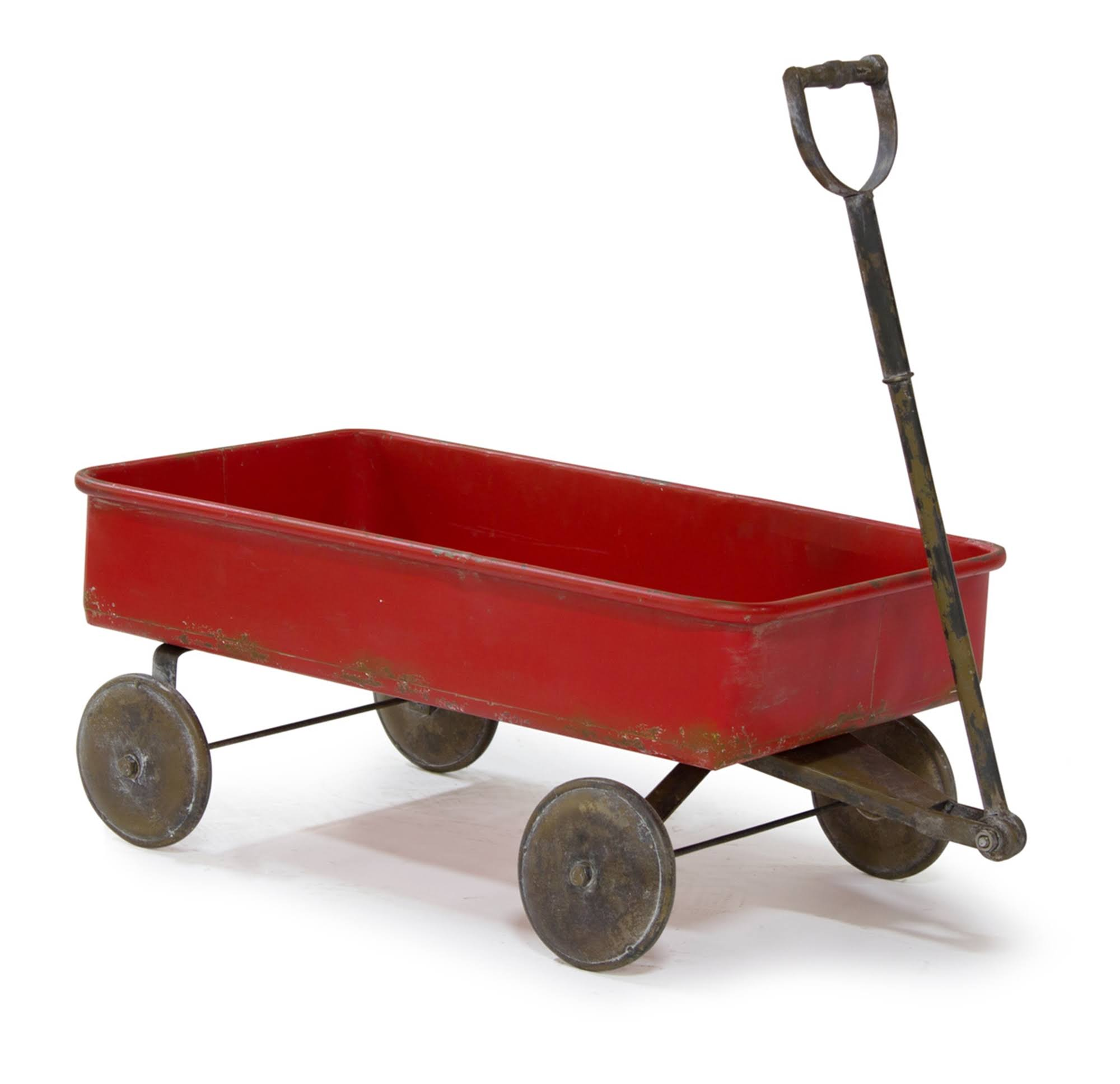 Melrose 24.5 inch Rustic Red Distressed Finished Wagons