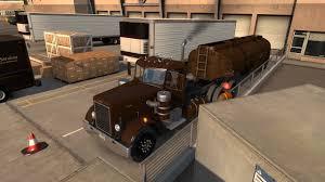 American Truck Simulator 50's Fruehauf Tanker Trl -