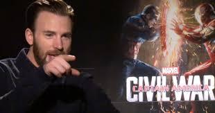 Watch Captain America Civil War Interviews Chris Evans Sebastian Stan Anthony Mackie More