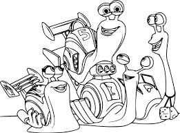 Coloriage Turbo Lescargot En Ligne