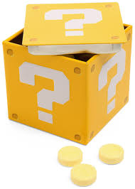 Mario Bros Question Block Lamp by Super Mario Brothers Question Box Candy