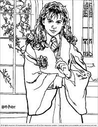 Crazy Harry Potter Printable Coloring Pages