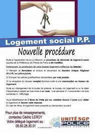 bureau du logement logement social pp nouvelle procédure unité sgp fo