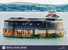 100 Spitbank Fort In Solent Off Portsmouth UK Stock Photo 91227062 Alamy