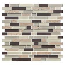 american olean mosaic tile american olean color appeal blends c138 trail blend 5 8