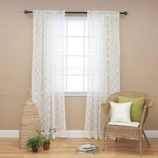 108 Inch Navy Blackout Curtains by Living Room Exciting Ivory Lace 108 Inch Curtains With Curtain