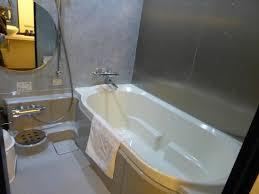 geräumiges bad mit wanne und japanischer dusche picture