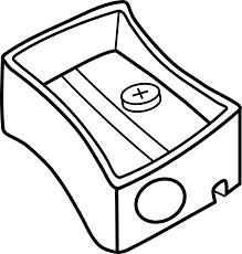 horizontal pencil clip art