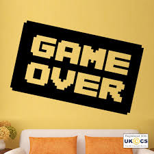 Game Over PS3 PS4 XBOX Cool Boys Wall