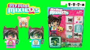 My Mini Mixie Q s Cat Lover 4 pack Series 1 Minis Fun Toy Video