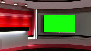 Stock Video Of News Studio Tv Studio Set The