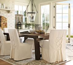 Pottery Barn Dining Room Chair Slipcovers 1208