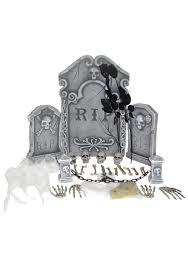 Halloween Graveyard Fence Decoration by Spooky Graveyard Kit