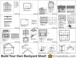 Shed Dormer Plans by 16x20 Shed Plans With Dormer Icreatables