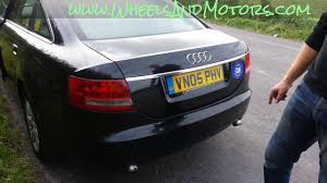 how to replace rear light bulb on audi a6 c6 4f